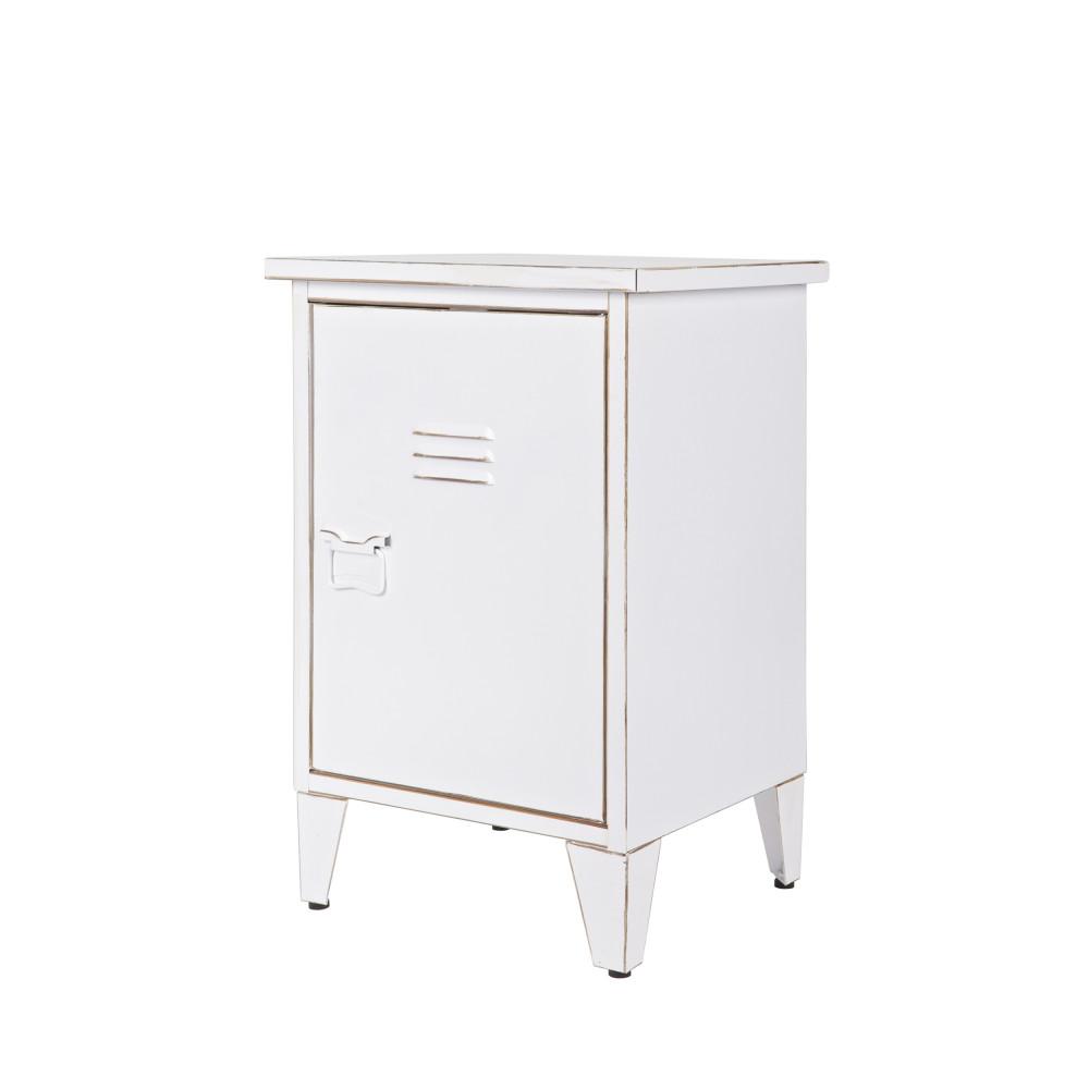 table de chevet m tal ouverture droite maxim par. Black Bedroom Furniture Sets. Home Design Ideas