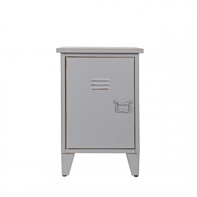 Table de chevet métal ouverture gauche Maxim