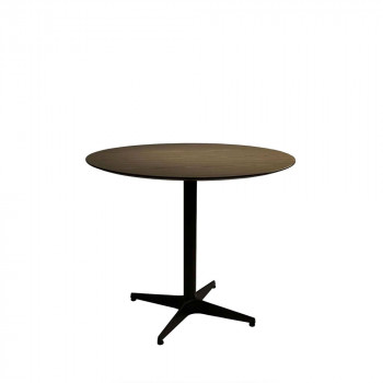 Table ronde bois vintage Nuts