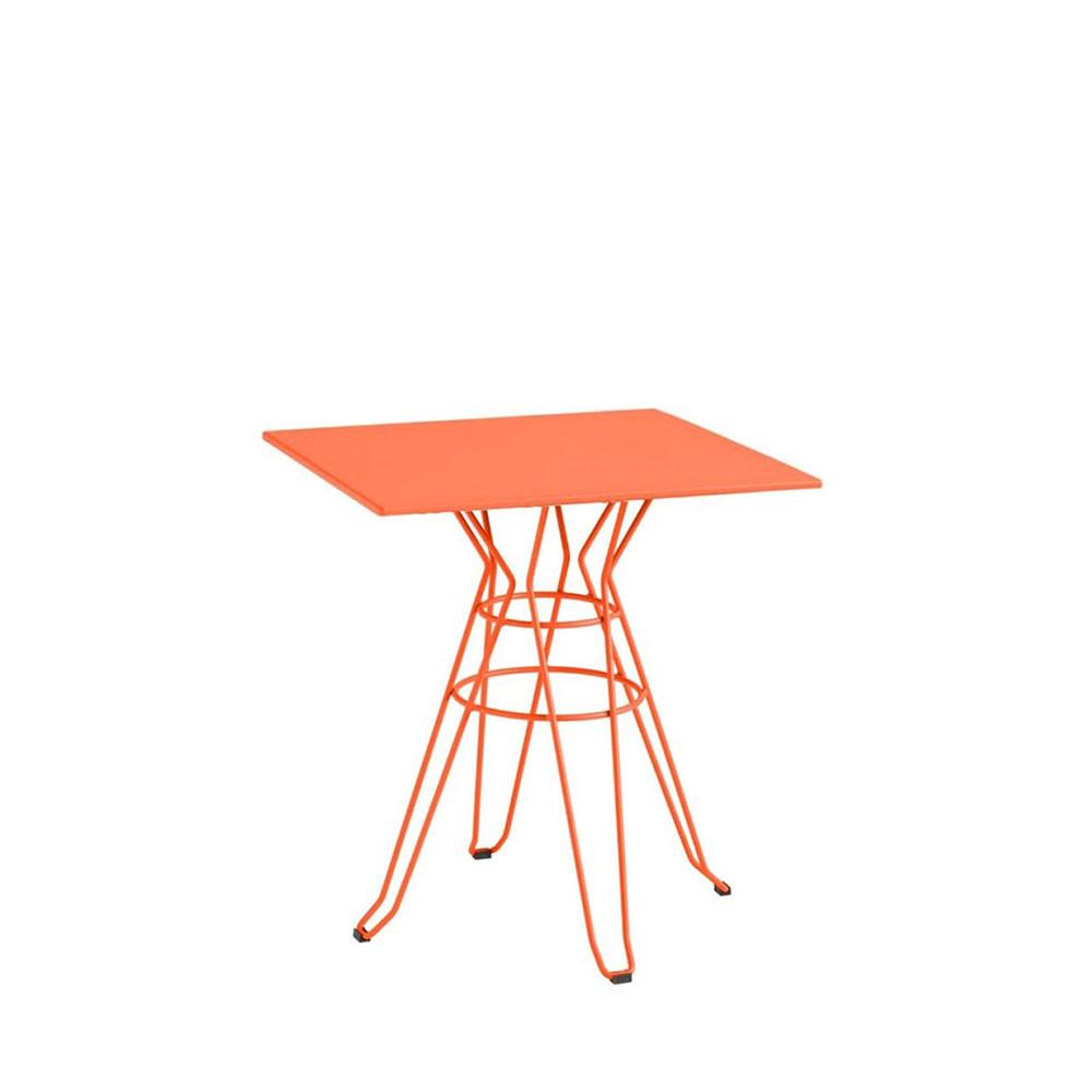 table de jardin carr e design alameda 90x90 par drawer. Black Bedroom Furniture Sets. Home Design Ideas