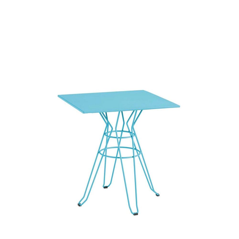 Table de jardin carr e design alameda 90x90 par drawer for Table de jardin design