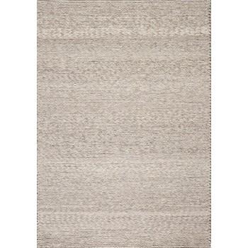 tapis type berb re tiss main en laine beige et gris pavot. Black Bedroom Furniture Sets. Home Design Ideas