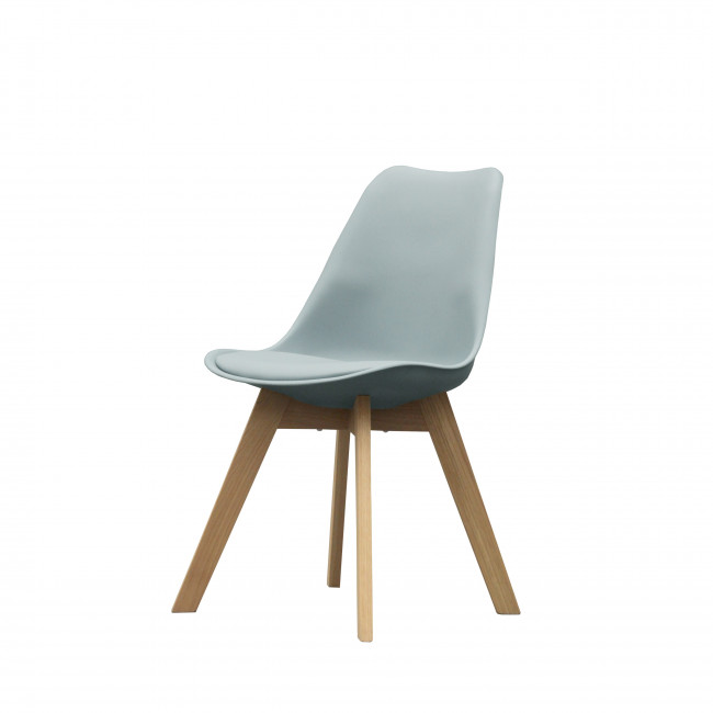 Chaise Ormong Log bleue