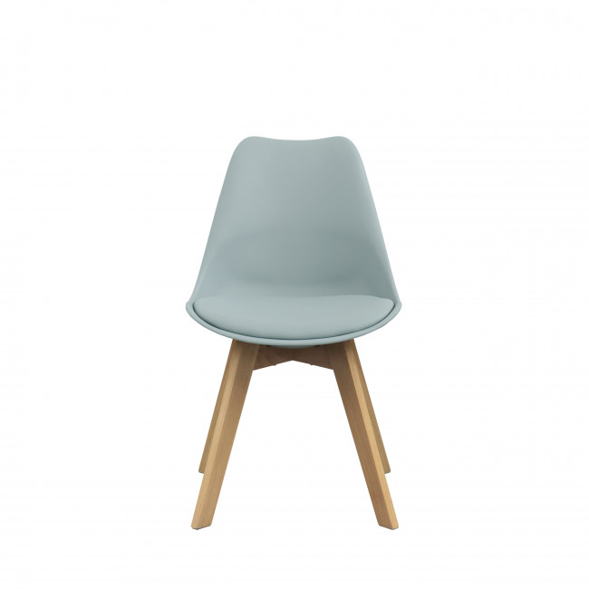 Chaise ormond Log bleu gris