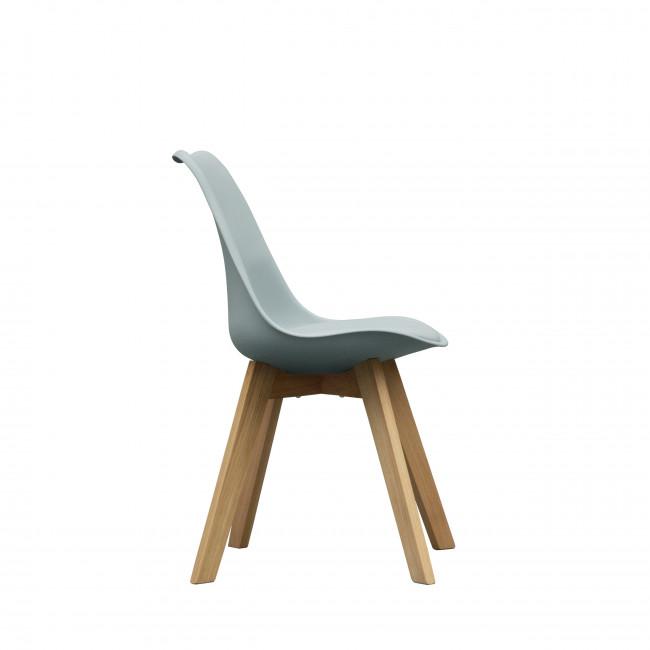 Chaise Ormond Log en bleu gris