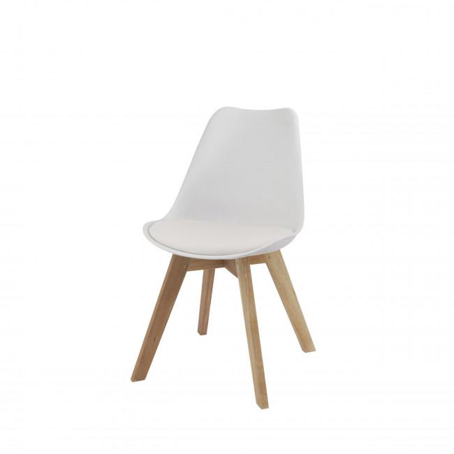 Chaise Ormond Log blanche