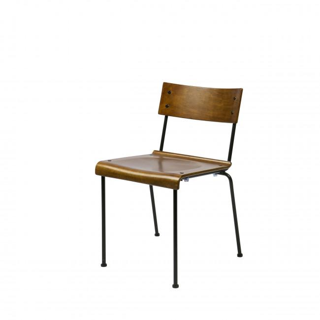 Chaise design écolier bois Teach