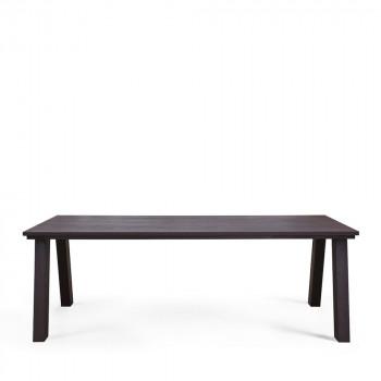 Grande table en chêne FSC 220x95cm Constantin