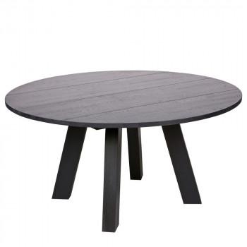 Table à manger ronde Ø150cm en chêne Jozua