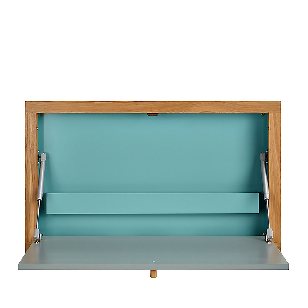 Bureau mural contemporain brenta drawer for Bureau rabattable