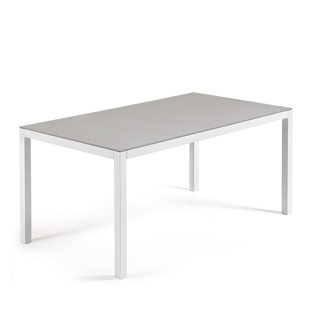 table de jardin aluminium et verre nessy hydra by drawer. Black Bedroom Furniture Sets. Home Design Ideas