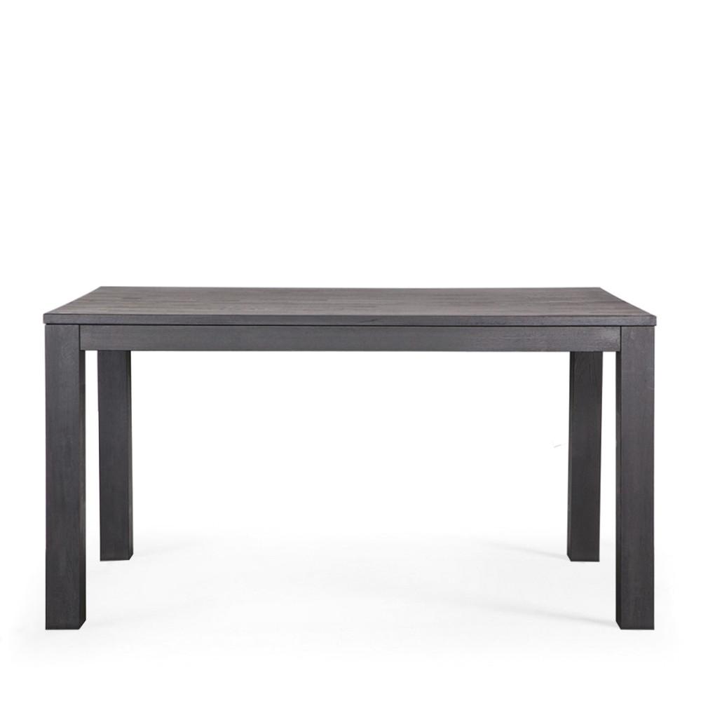 Table a manger chene maison design for Table a manger noir