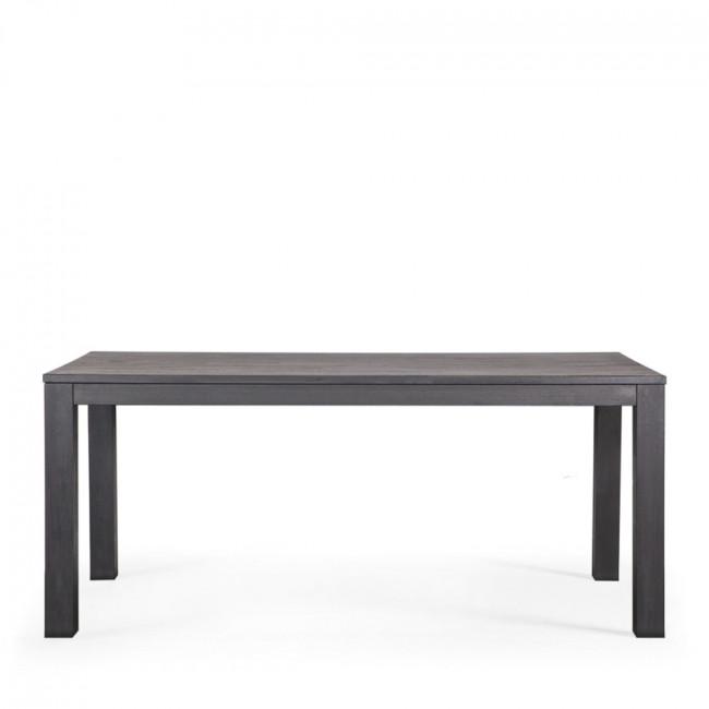 Table à manger en chêne noire 200x90 Tygo