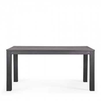 Table à manger en chêne noire 180x85 Tygo