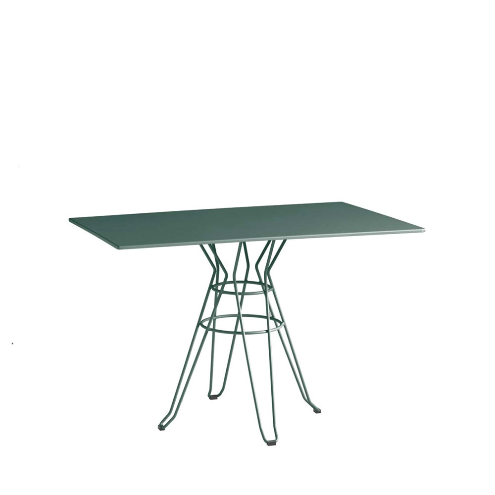 Table de jardin design rectangulaire Alameda 110x70 par Drawer.fr