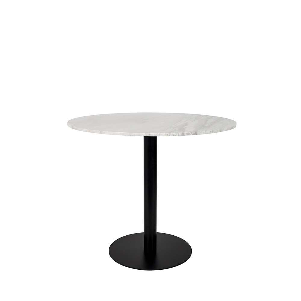 Table De Bistrot Ronde O90cm Zuiver Marble King