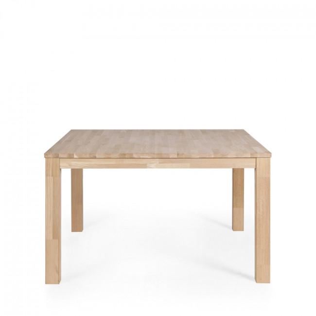 table manger en ch ne brut dutchwood par drawer. Black Bedroom Furniture Sets. Home Design Ideas