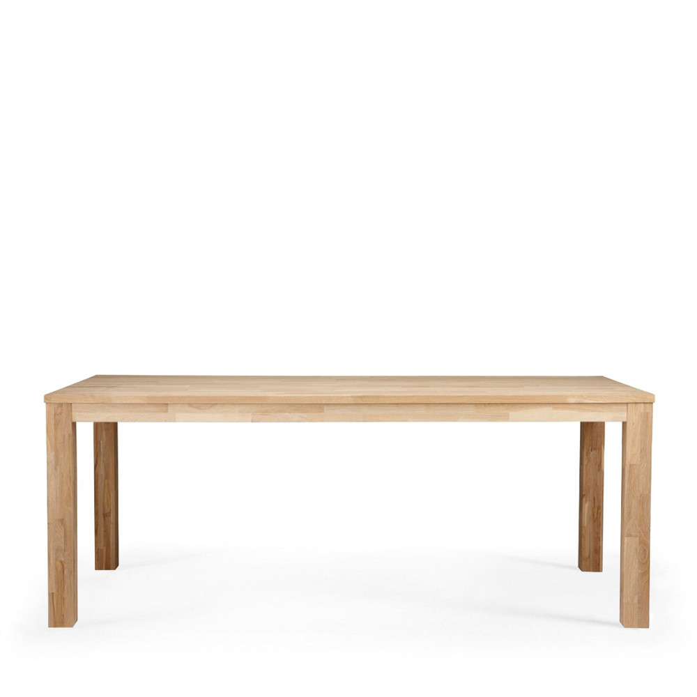 Table manger en ch ne brut dutchwood par drawer for Table salle a manger chene massif design