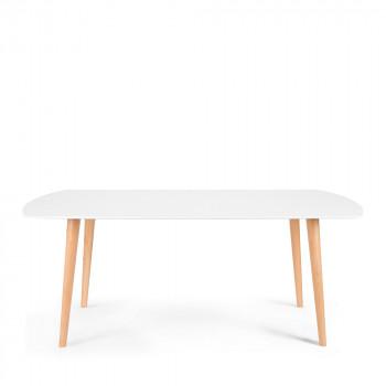 Table à manger en bois 180x90 Sion
