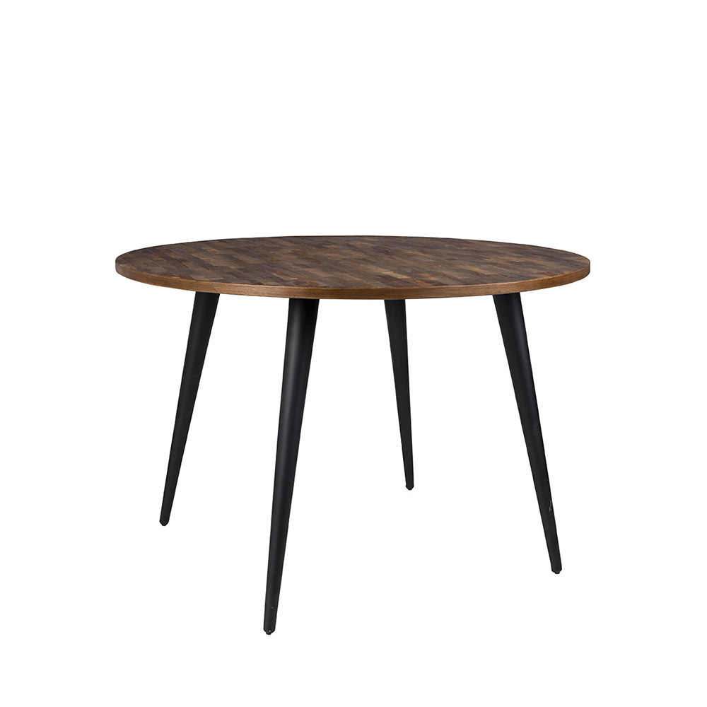 Table manger ronde en teck recycl mo 110 - Table ronde a manger ...
