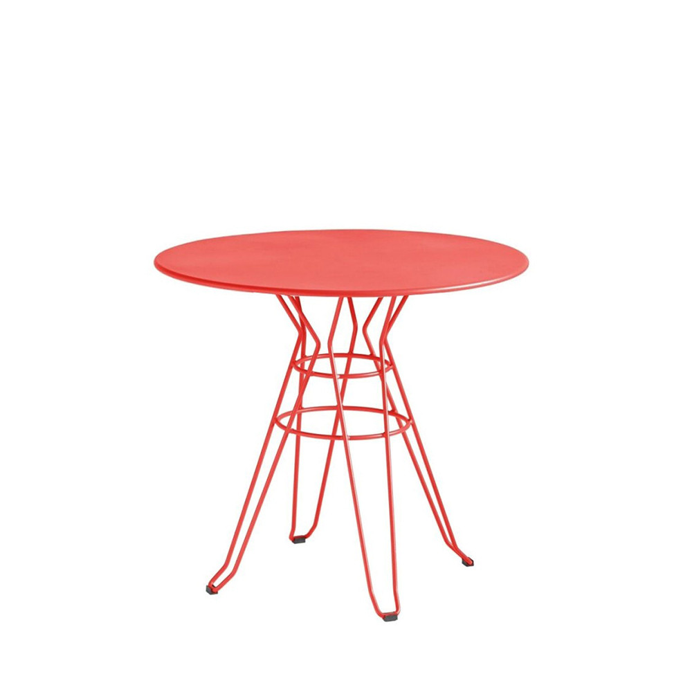 Table de jardin ronde design Alameda D110 par Drawer.fr