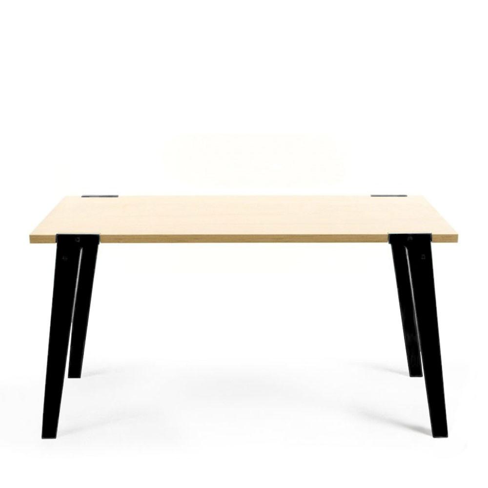 Table design en bois massif switch medium drawer - Table design belgique ...