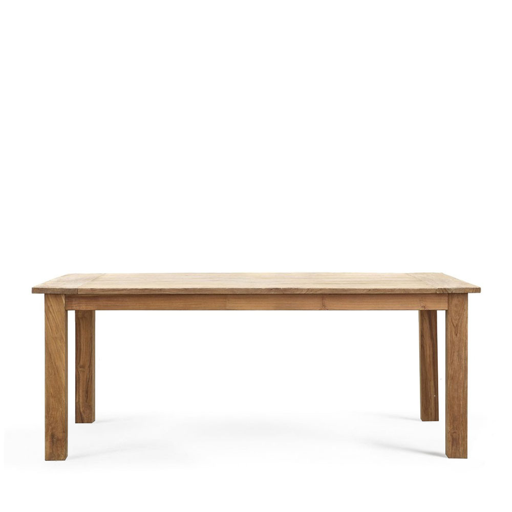 table 224 manger 200x90 en teck botany par drawer