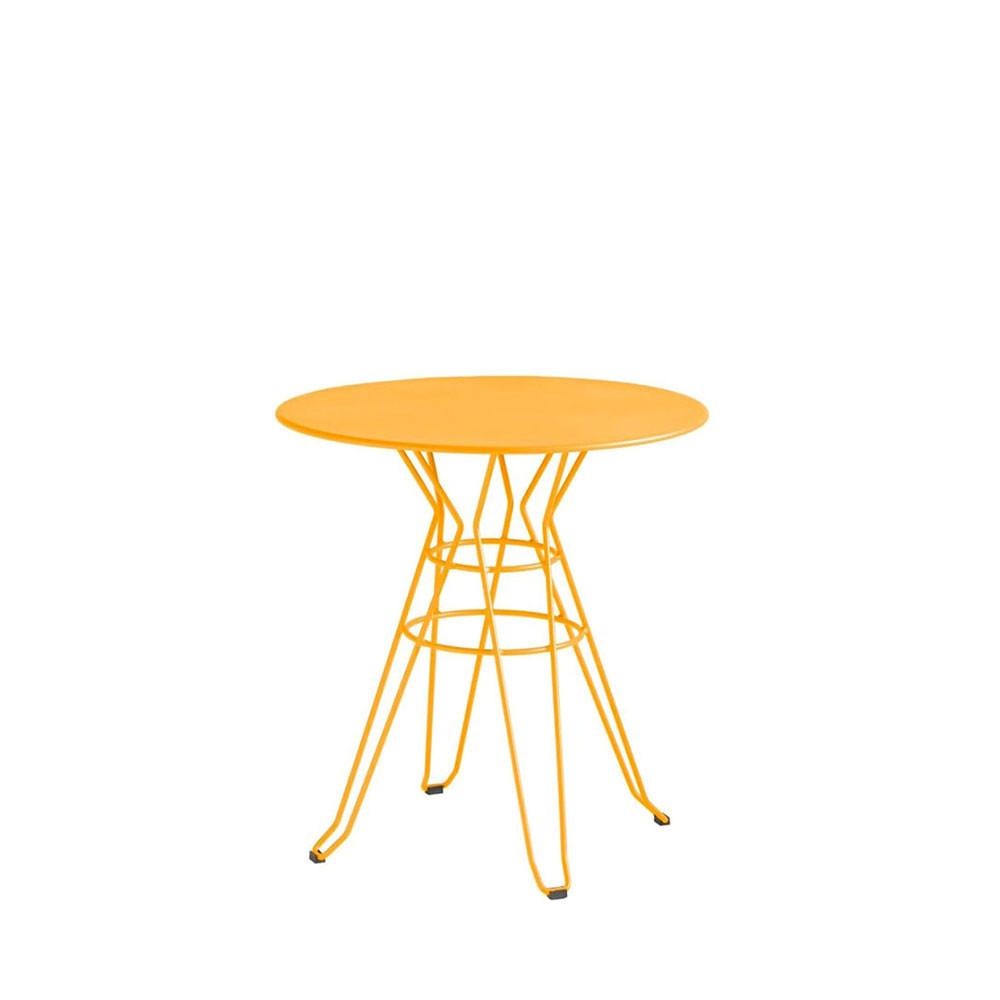 table de jardin ronde design alameda d60 par. Black Bedroom Furniture Sets. Home Design Ideas