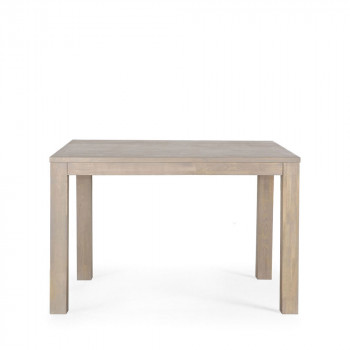 Table chêne fumé 130x130 Dutchwood