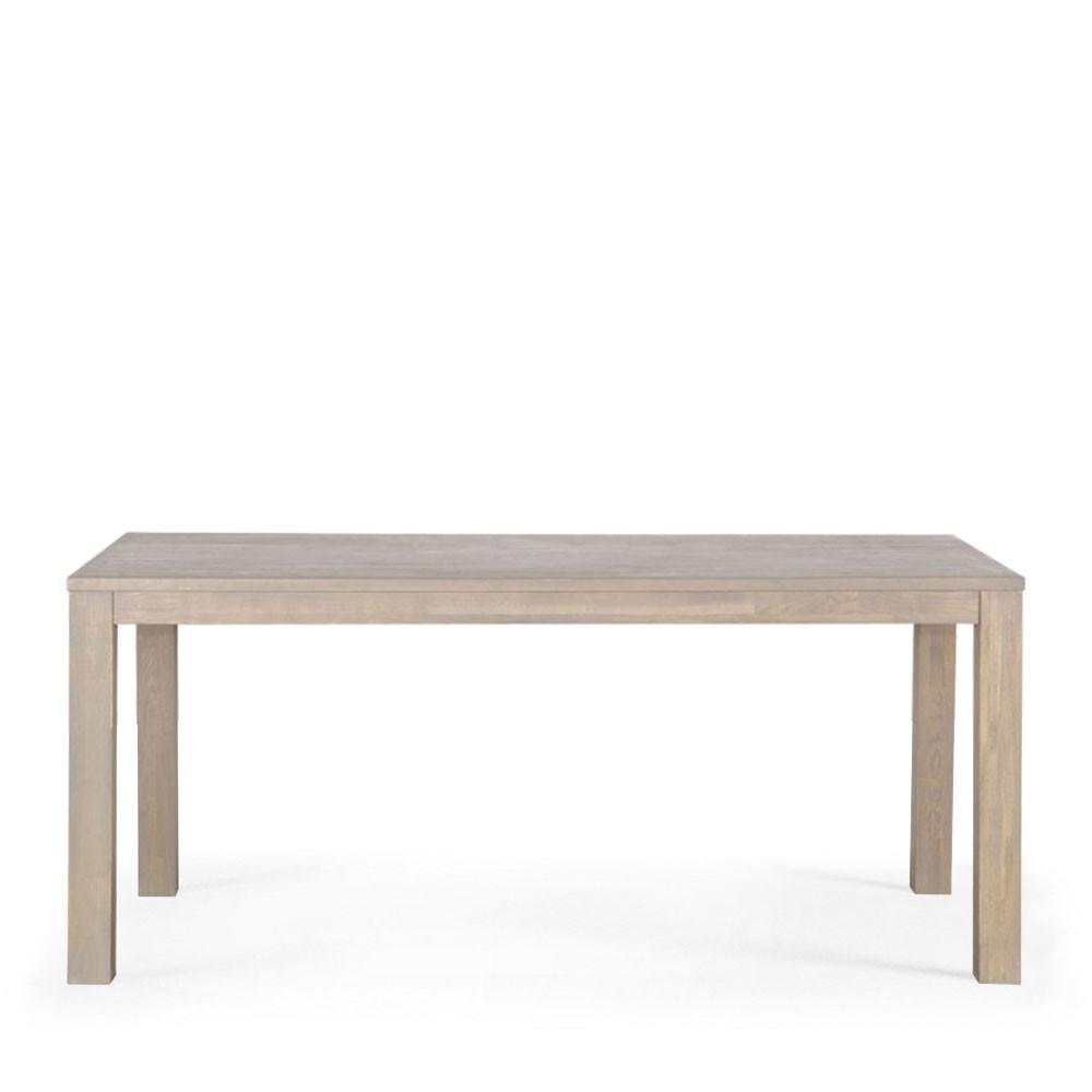 Table manger en ch ne dutchwood par drawer for Table a manger soldes