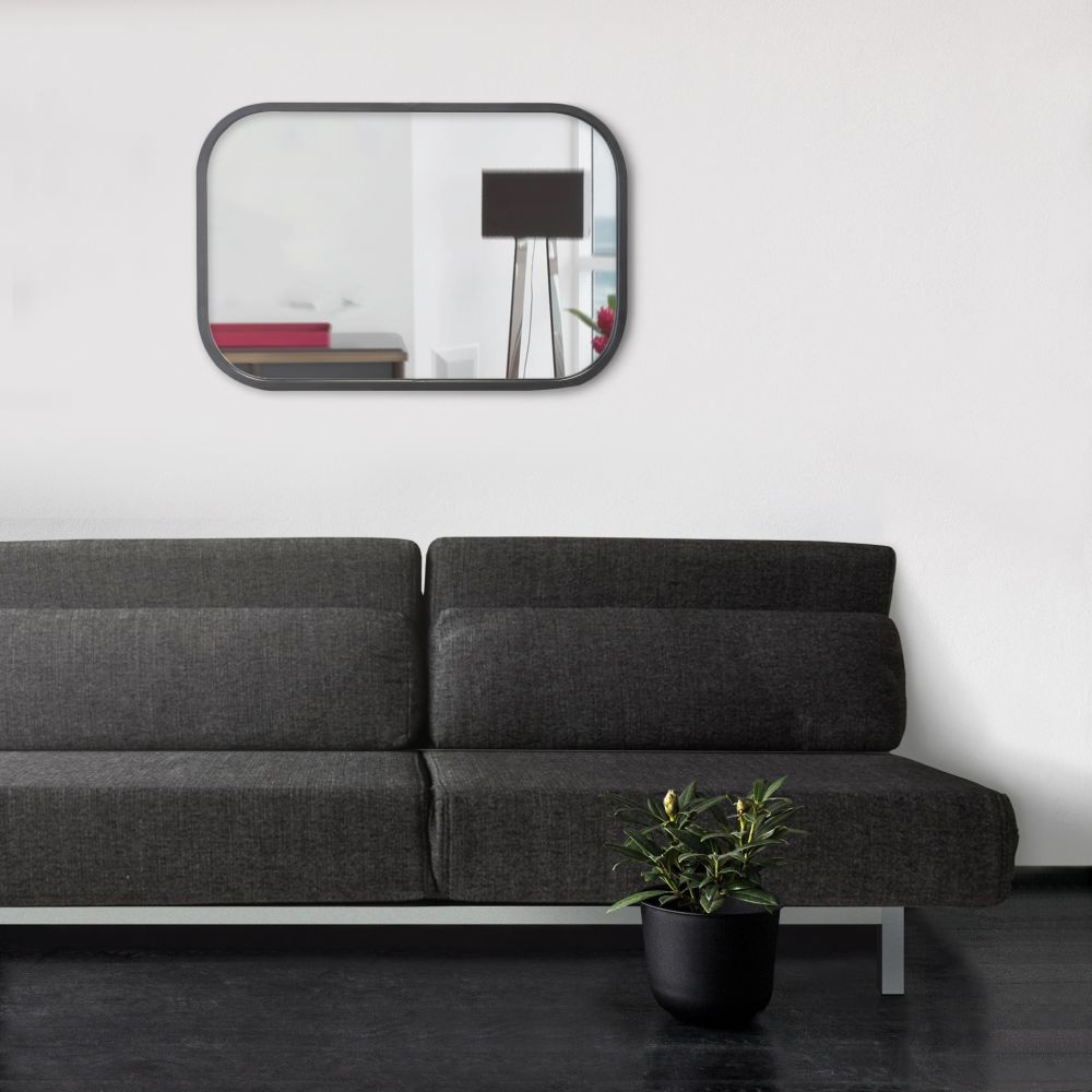 miroir rectangulaire industriel axel by drawer. Black Bedroom Furniture Sets. Home Design Ideas