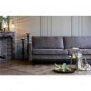 Canapé contemporain 3 places en tissu Rebel marron dans un salon