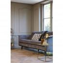 Canapé contemporain Rebel marron dans un salon