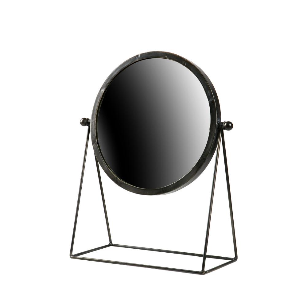 miroir poser industriel m tal hi drawer. Black Bedroom Furniture Sets. Home Design Ideas