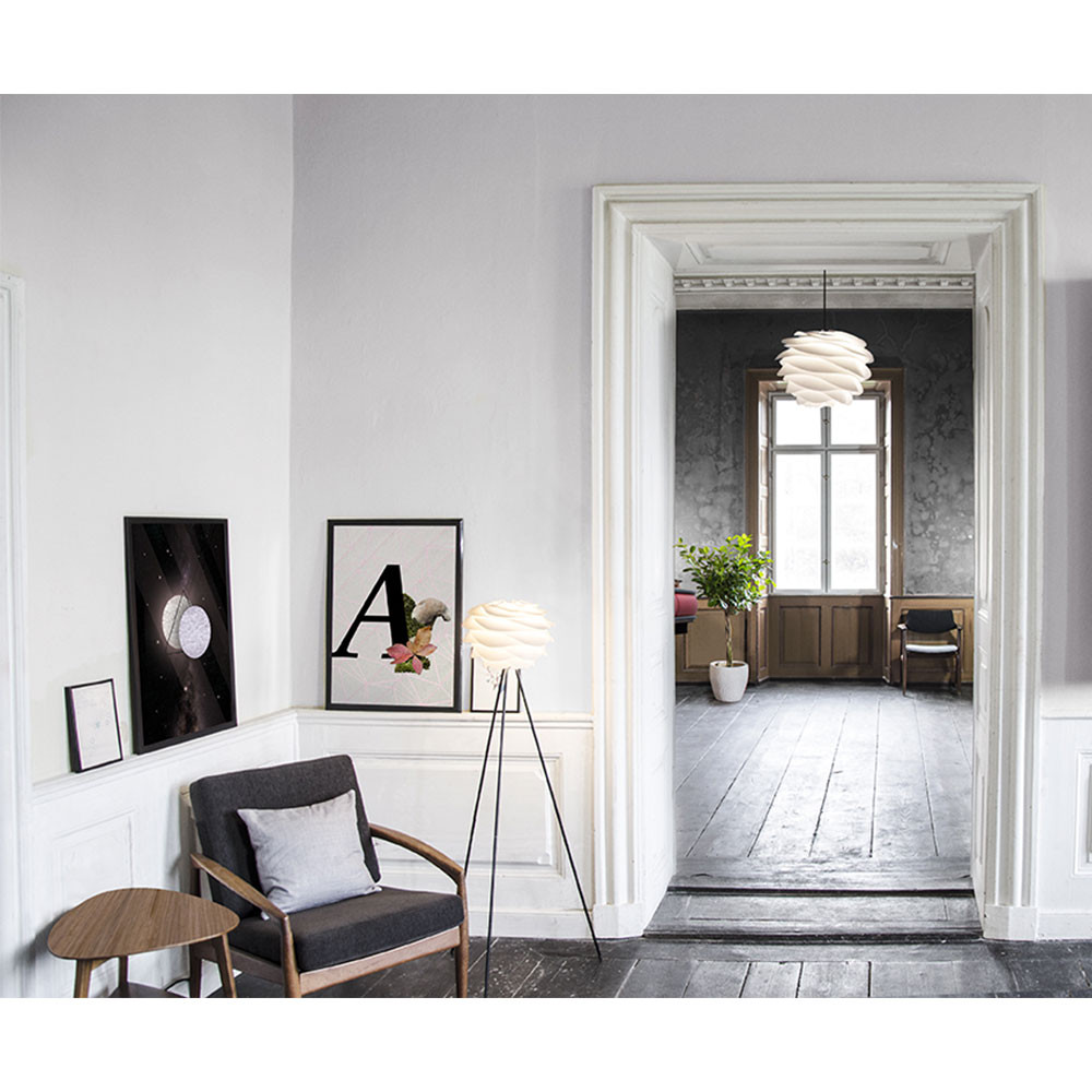 Suspension design carmina blanche par for Architecture de la maison blanche