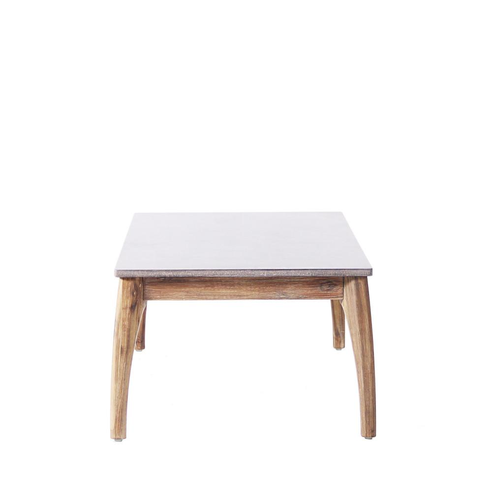 table basse de jardin bois et superstone nokor by drawer. Black Bedroom Furniture Sets. Home Design Ideas