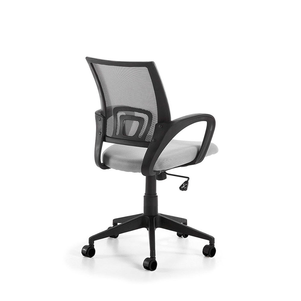 chaise de bureau design r glable roulettes rail par. Black Bedroom Furniture Sets. Home Design Ideas
