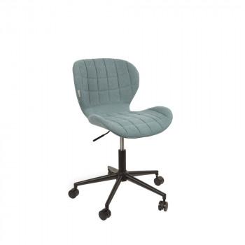 Chaise de bureau design OMG bleu