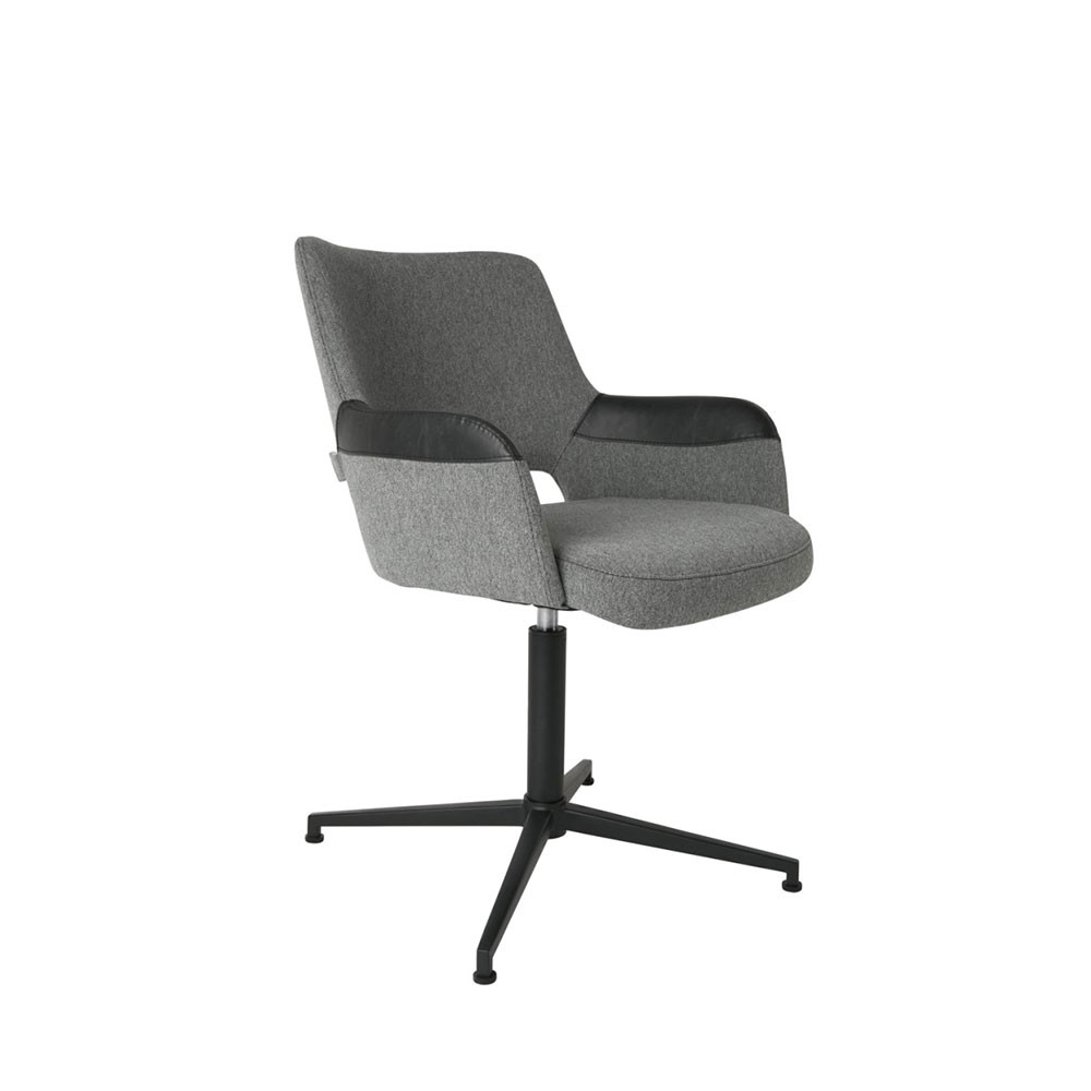 fauteuil design pivotant syl zuiver. Black Bedroom Furniture Sets. Home Design Ideas