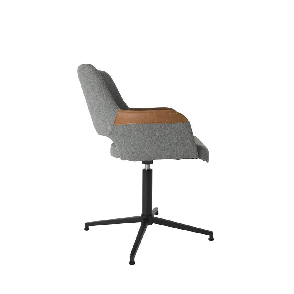 Fauteuil design pivotant syl zuiver - Chaise de bureau knoll ...