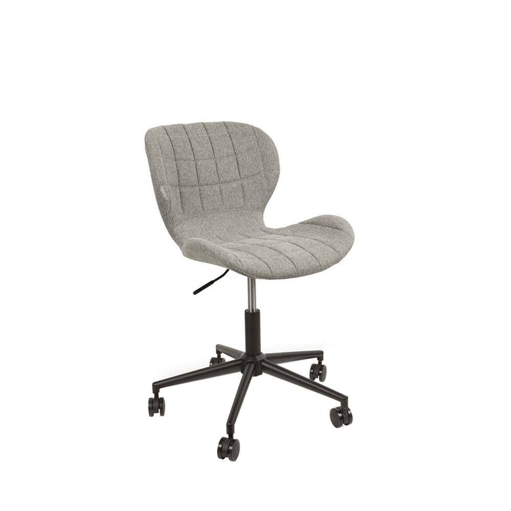 chaise de bureau confortable zuiver omg. Black Bedroom Furniture Sets. Home Design Ideas