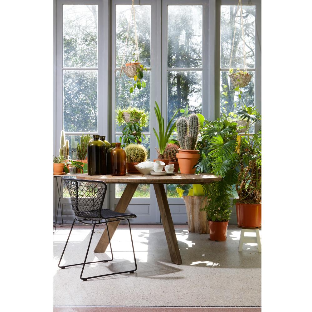 table manger ronde 140cm tondo drawer. Black Bedroom Furniture Sets. Home Design Ideas
