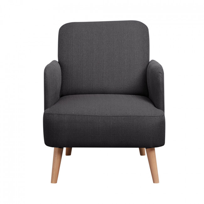 Retro Design Fauteuil.Fauteuil Retro Design Bleu Brooks Look Nordique By Drawer