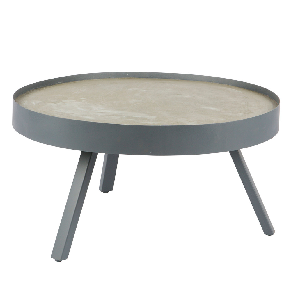 table basse b ton skip drawer. Black Bedroom Furniture Sets. Home Design Ideas