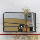 Miroir en métal avec rangement Reflection ambiance 1