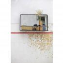 Miroir en métal avec rangement Reflection ambiance 2