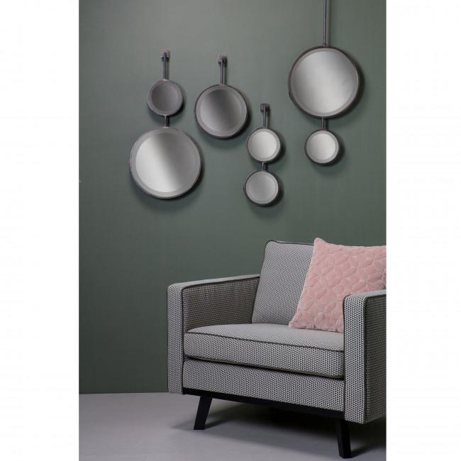 Miroir double suspendu métal M Chain ambiance