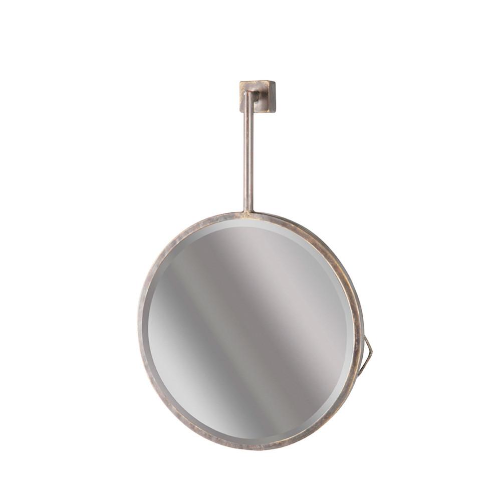 Miroir suspendu m tal chain drawer for Metal miroir