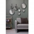 Miroir double suspendu métal XL Chain ambiance