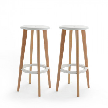 Lot de 2 tabourets de bar 76 cm Harry's